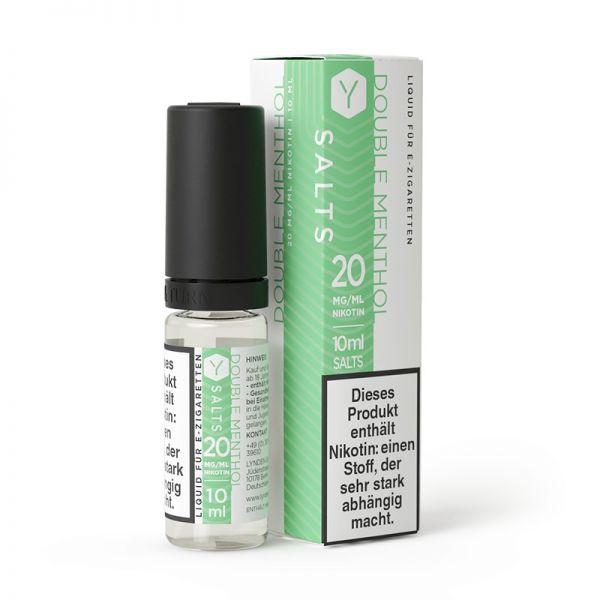 LYNDEN - Double Menthol Nikotinsalz Liquid 10ml 20mg/ml
