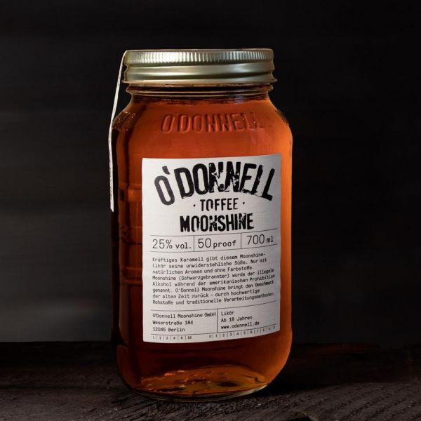 O'Donnell Moonshine - Toffee Likör 25% 700ml