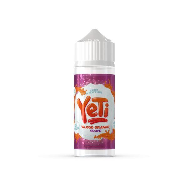 Yeti - Blood Orange Grape Liquid 100ml Shortfill