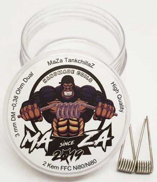 MaZa Handmade Coils - Tankchillaz 0.38 Ohm 2er Pack