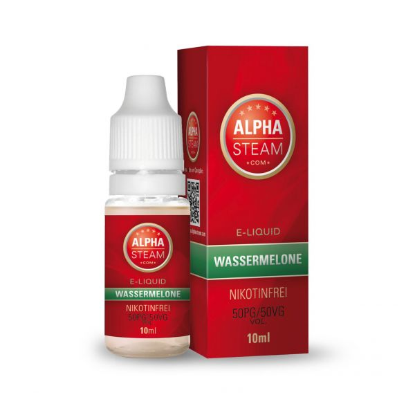 Alpha Steam Liquid 50/50 MTL - Wassermelone