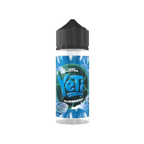 Yeti - Blizzard Blueberry Liquid 100ml Shortfill