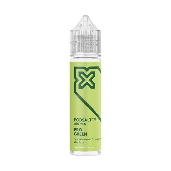 Pod Salt X - Pro Green Aroma 20ml Longfill