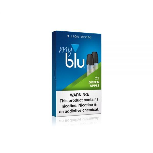 myBlu - 2x Green Apple 0mg