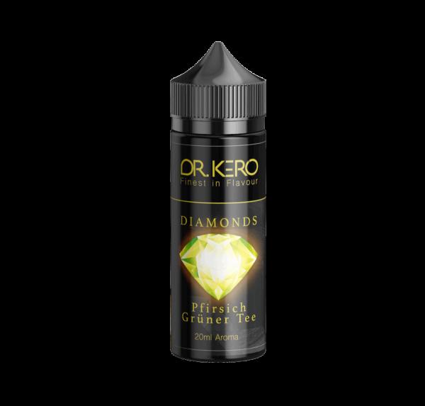 Dr. Kero Diamonds - Pfirsich Grüner Tee Aroma 20ml Longfill