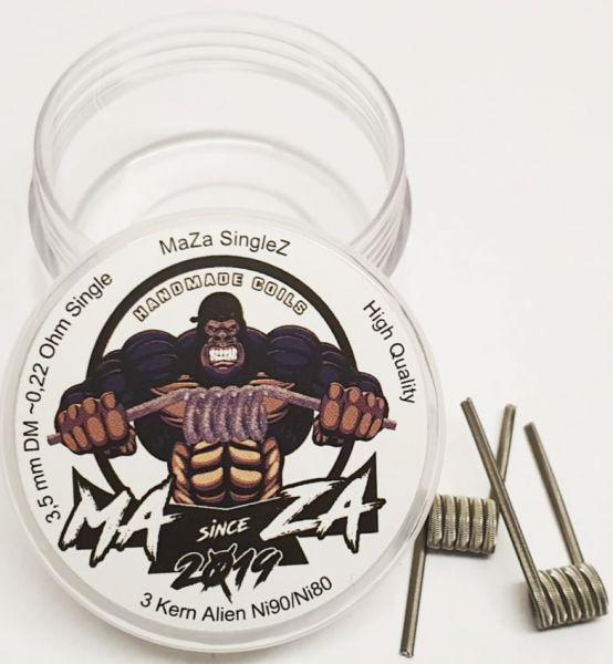 MaZa Handmade Coils - SingleZ 0.22 Ohm 2er Pack