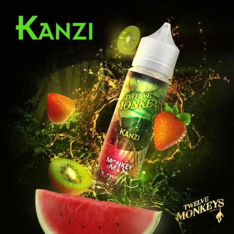 Twelve Monkeys - Kanzi Liquid 50ml Shortfill