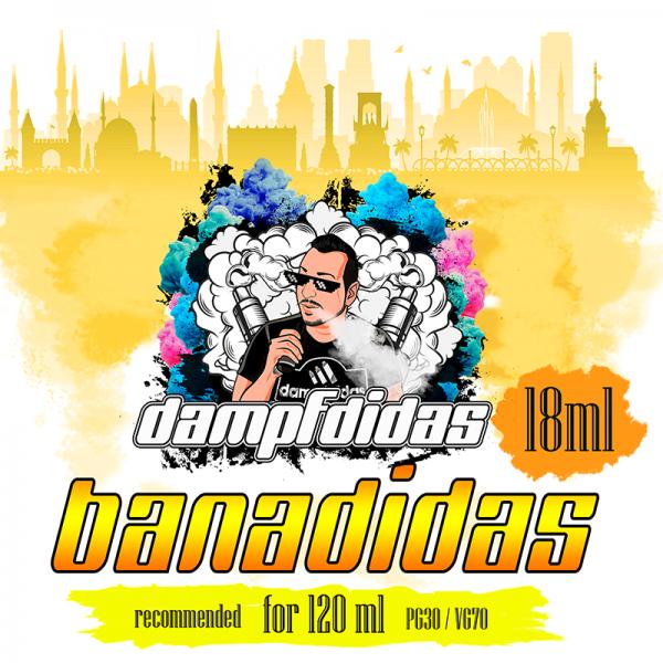 Dampfdidas - Bananidas Aroma 18ml Longfill