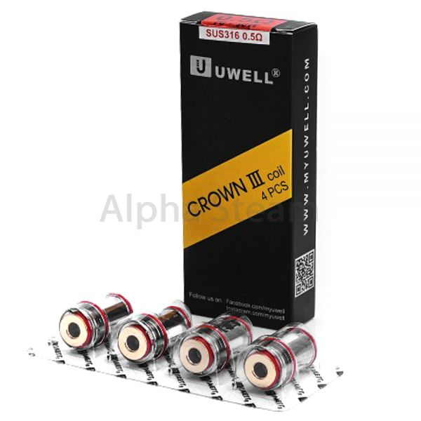 UWELL - Crown 3 Coils - 0,25 Ohm