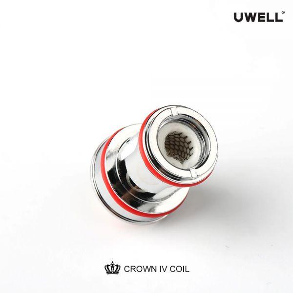Uwell - Crown 4 Verdampferköpfe - Mesh 0,25 Ohm