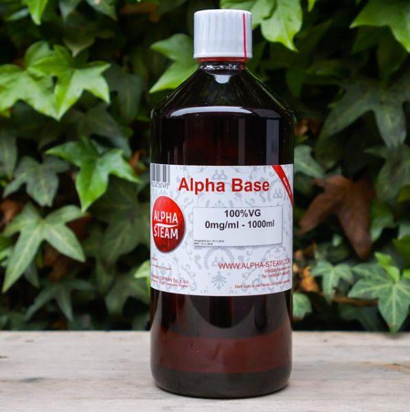 Alpha Base - 100% VG 1000ml