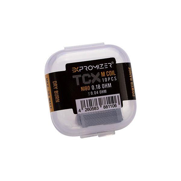eXvape - Expromizer TCX Mesh Ni80 0.18 Ohm 10er Pack