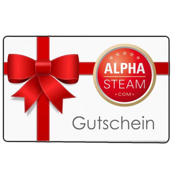 Alpha Steam - Geschenkgutschein