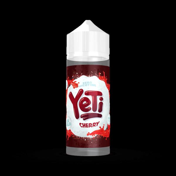 Yeti - Cherry Liquid 100ml Shortfill