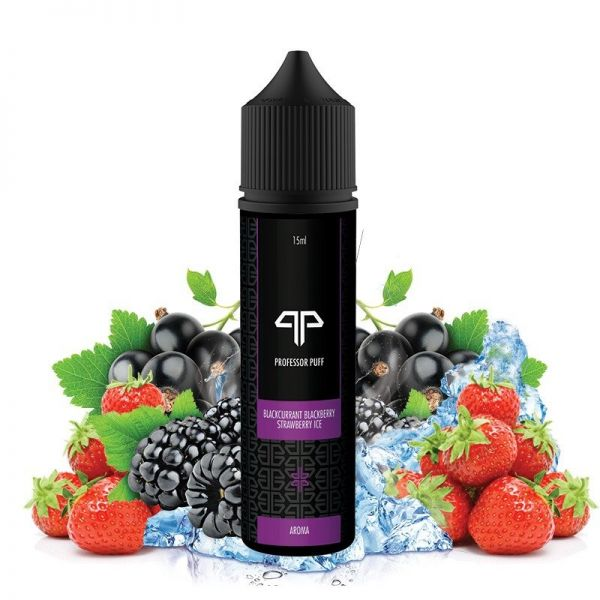 Professor Puff - Blackcurrant Blackberry Strawberry Ice Aroma 15ml Longfill