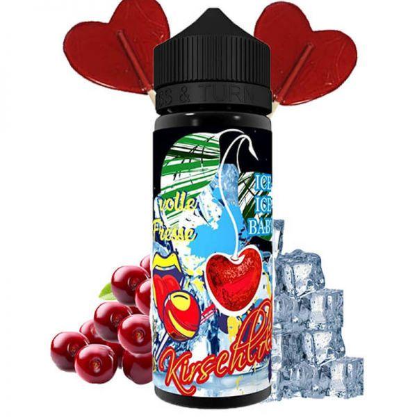 Lädla Juice - Volle Fresse Kirschlolli On Ice Aroma 20ml Longfill