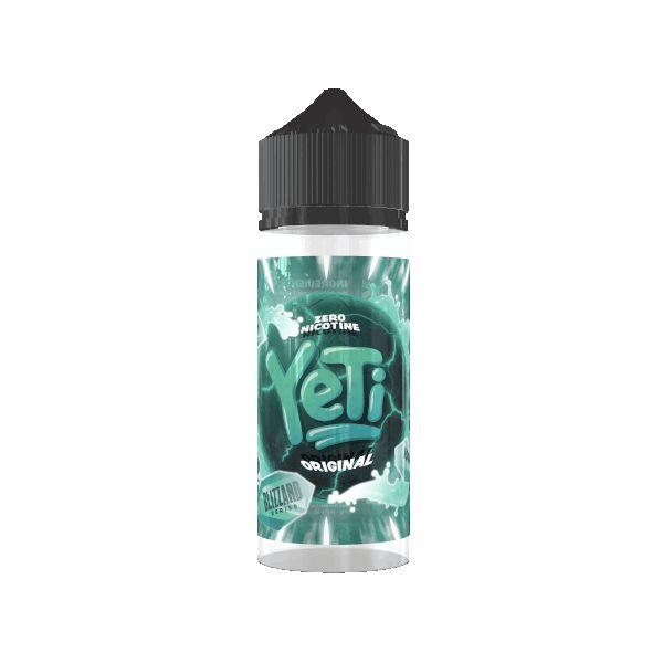 Yeti - Blizzard Original Liquid 100ml Shortfill
