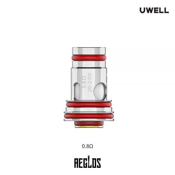 UWELL - Aeglos MTL Verdampferköpfe 0.8 Ohm 4er Pack