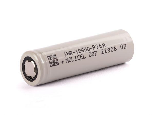 Molicel - P26A 18650 Akkuzelle 2600mAh 35A