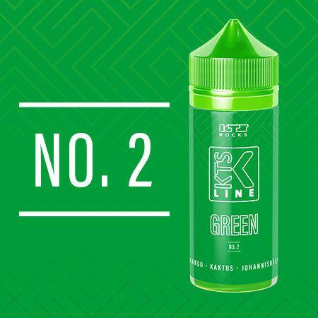 KTS Rocks - Green No. 2 Aroma 30ml Longfill