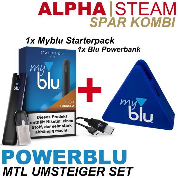 Spar Kombi POWERBLU - Myblu Set inkl. Powerbank