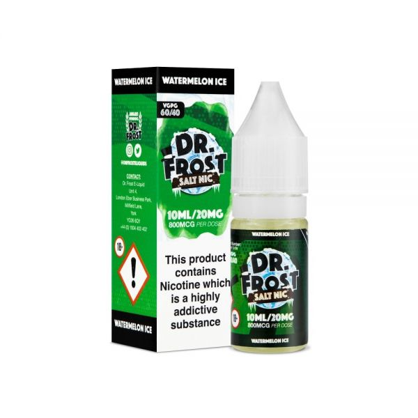 Dr.Frost Nic Salt - Watermelon Ice Liquid 20mg Nikotinsalz