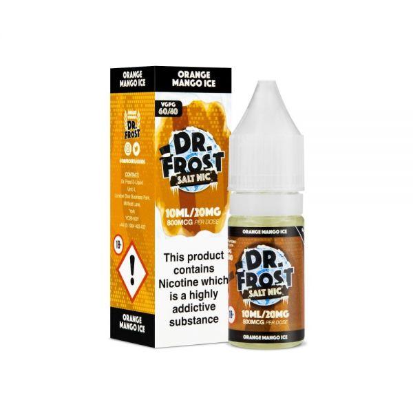Dr.Frost Nic Salt - Orange Mango Ice Liquid 20mg Nikotinsalz