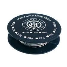 Ni80 Draht 0,3mm auf Rolle 10m