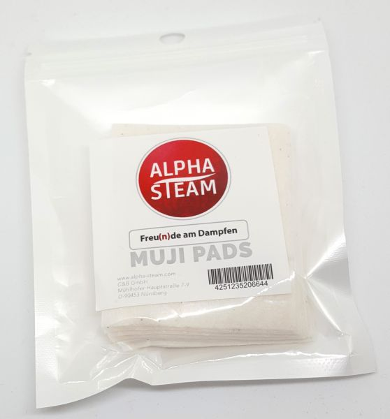 Alpha-Steam - Muji Wattepads