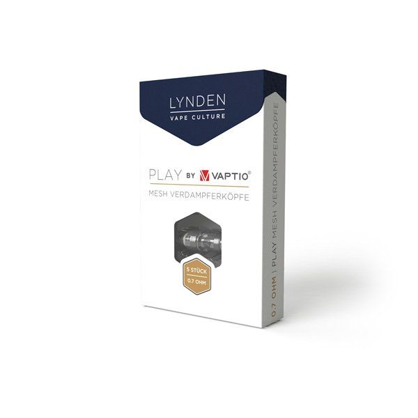 LYNDEN - 5x PLAY Mesh Verdampferköpfe 0.7 Ohm