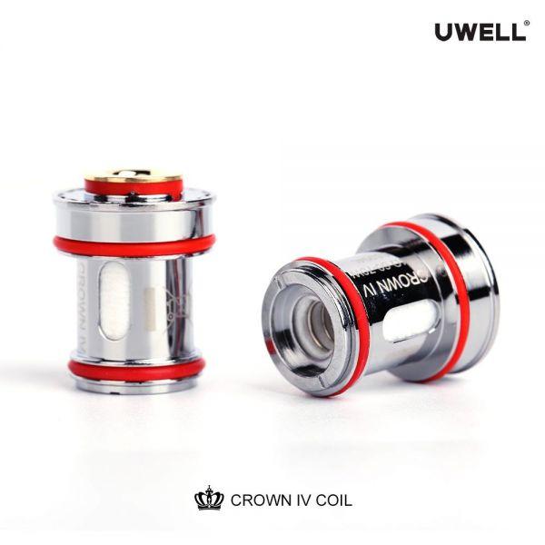 Uwell - Crown 4 Verdampferköpfe - 0,2 Ohm