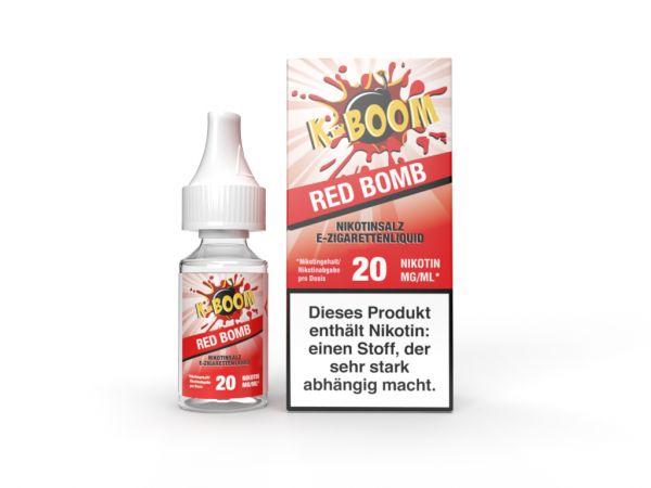 K-Boom - Red Bomb Nic Salt Liquid 20mg/ml 10ml