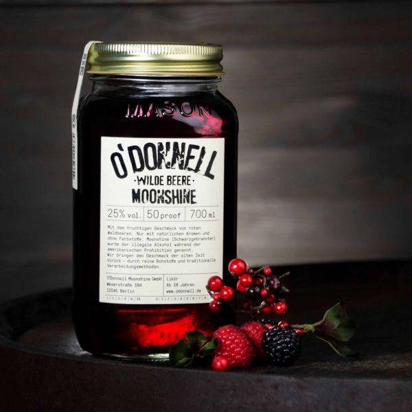 O'Donnell Moonshine - Wilde Beere Likör 25%