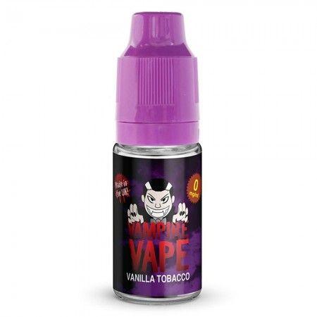Vampire Vape - Vanilla Tobacco Liquid 6mg