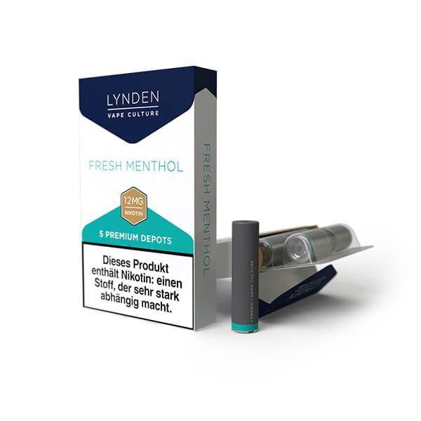 LYNDEN - Premium Set Depot Fresh Menthol 5er Pack