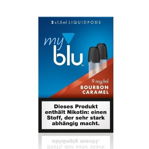 myBlu - 2x Bourbon Caramel 9mg