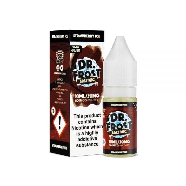 Dr.Frost Nic Salt - Strawberry Ice Liquid 20mg Nikotinsalz