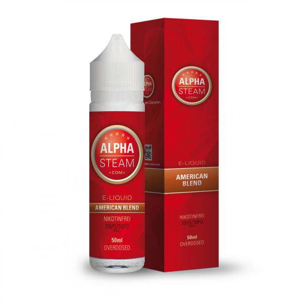 Alpha Liquid - American Blend 50ml Shortfill Liquid