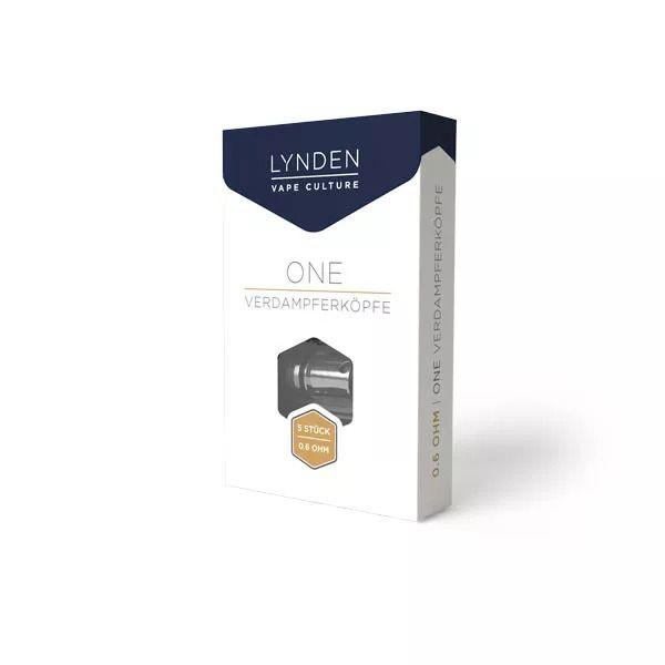LYNDEN - ONE DL Coil 0.6 Ohm 5er Pack