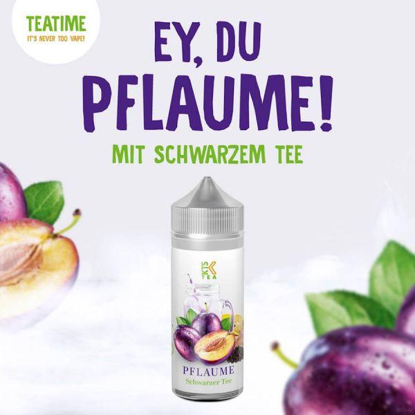 KTS Tea Serie - Pflaume Aroma 30ml Longfill