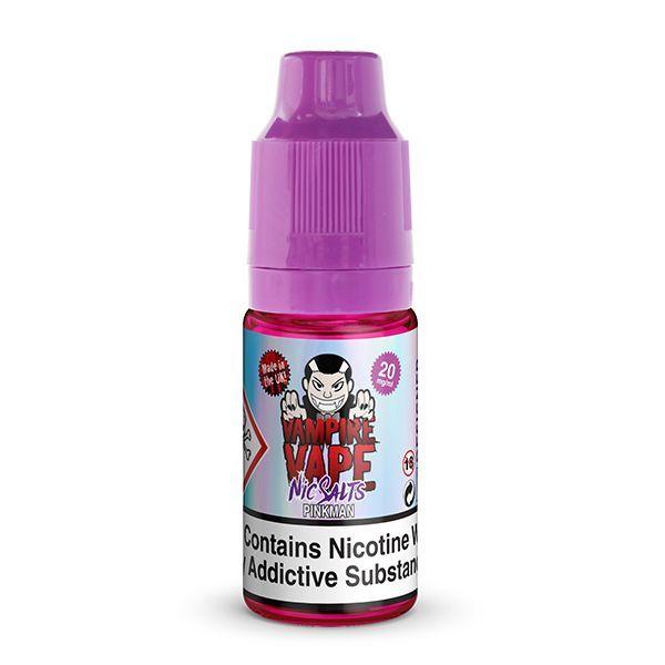 Vampire Vape - Pinkman Nic Salt Liquid 10mg/ml 10ml