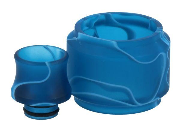 TFV12 Baby Prince Glas+Driptip - Blau