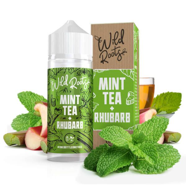 Wild Roots - Wild Tea with Rhubarb Liquid 100ml Shortfill