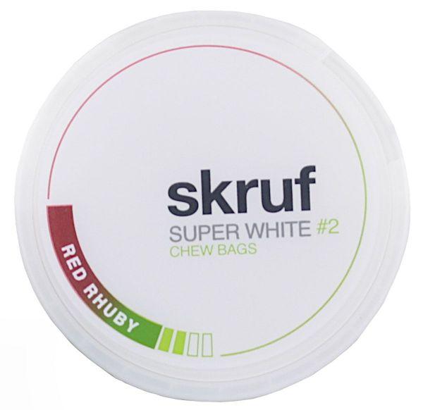 Skruf Super White - Red Rhuby #2 20 Stück Nikotinbeutel