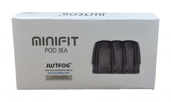 Just Fog - 3x Minifit Pod 1.5ml