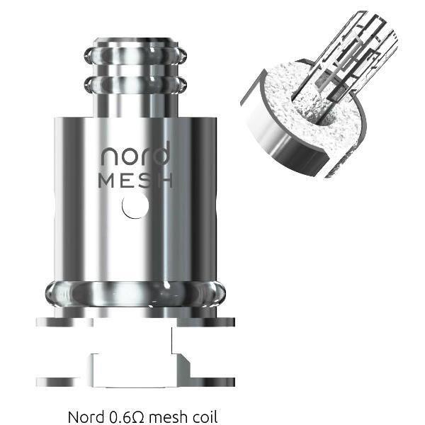 Smok - Nord Mesh Coils 0.6 Ohm Subohm