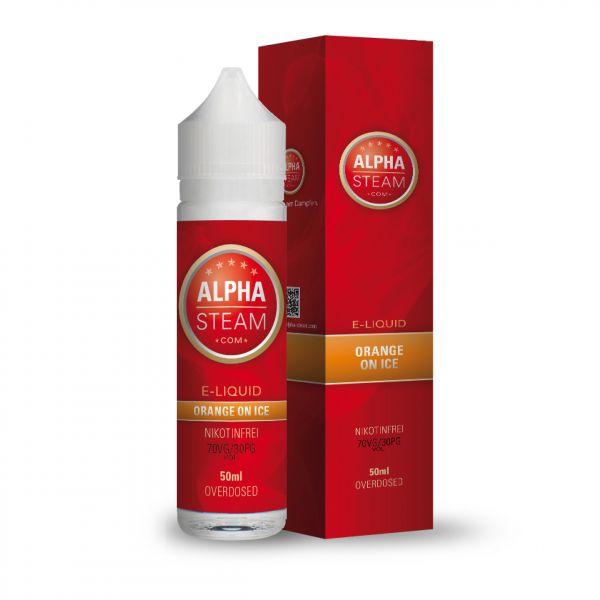 Alpha Liquid - Orange On Ice 50ml