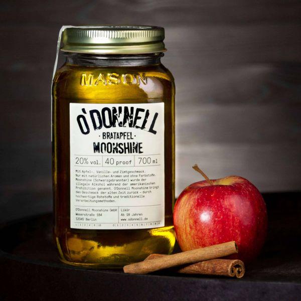 O'Donnell Moonshine - Bratapfel Likör 20%