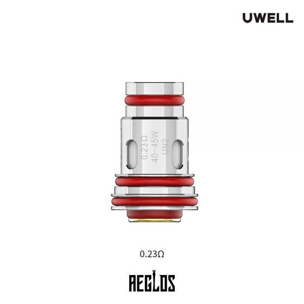 UWELL - Aeglos UN2 Mesh Verdampferköpfe 0.23 Ohm 4er Pack