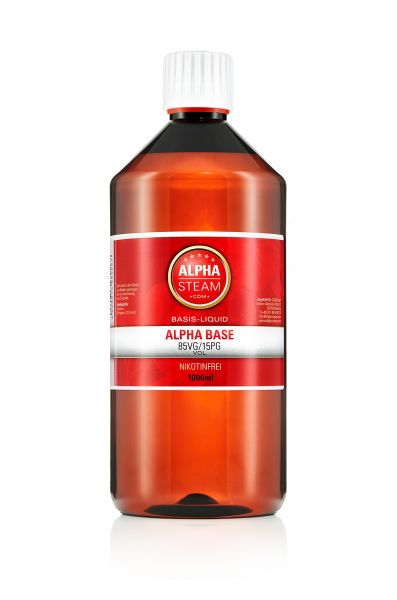 Alpha Cloud Base 85/15 - 1 Liter Basisliquid